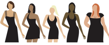 Dress right for YOUR body type…Accentuating your best features!