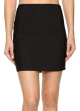 Black-short-half-slip