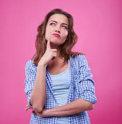 Woman Thinking 2